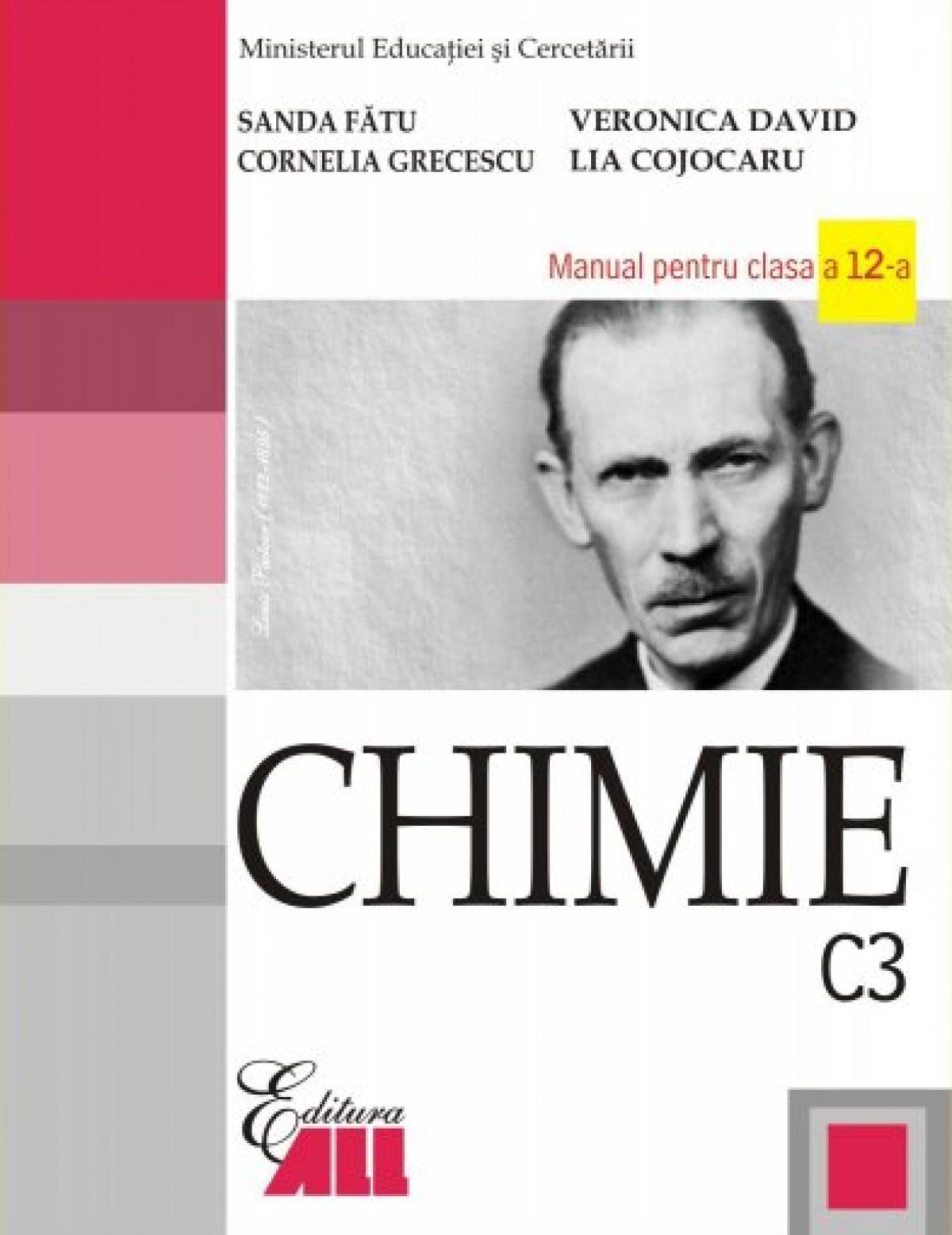 Chimie (C3). Manual pentru clasa a XII-a