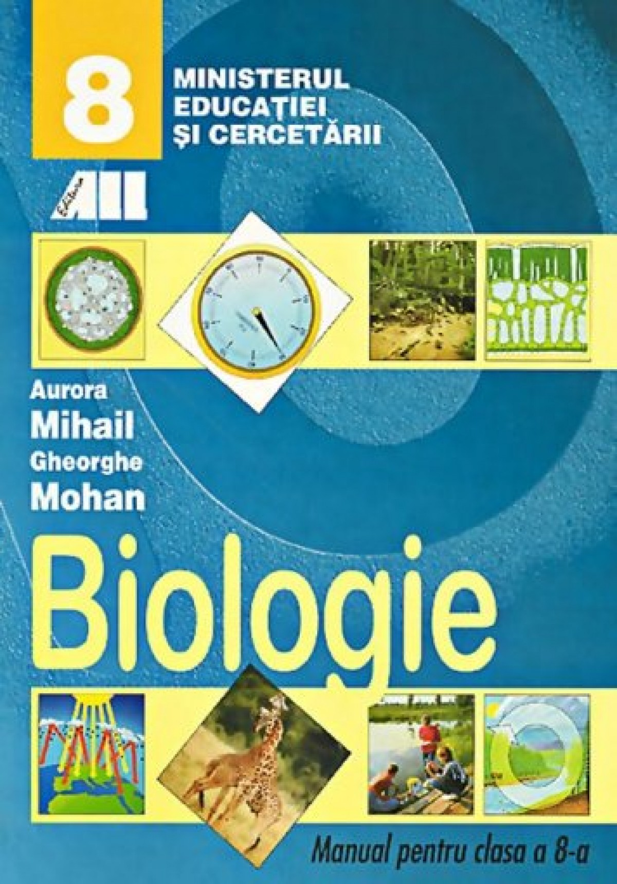 Biologie. Manual pentru clasa VIII- a
