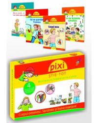 PIXI ȘTIE-TOT. Minienciclopedie la cutie 2: Corpul omenesc. Sănătate și bune maniere