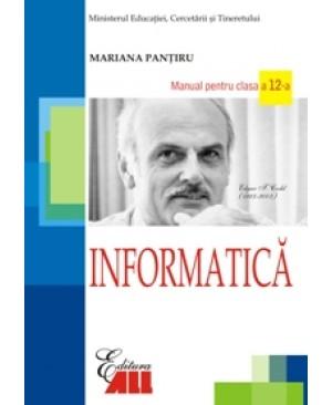 Informatica. Manual pentru clasa a XII-a