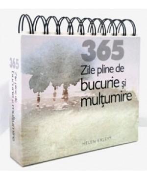 """CALENDARUL """"365 de zile pline de bucurie"""""""