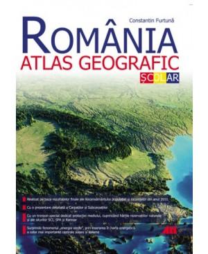 ROMÂNIA. ATLAS GEOGRAFIC ŞCOLAR. EDIŢIA A II-A