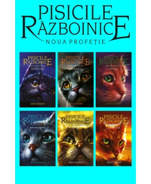 Pisicile războinice - seria Noua profeție. Cărțile VII-XII