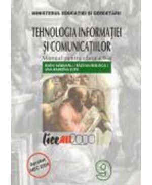 Tehnologia informatiei si comunicatiilor. Manual clasa a IX-a