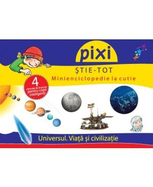 Pixi Știe-Tot. Minienciclopedie la cutie – Universul