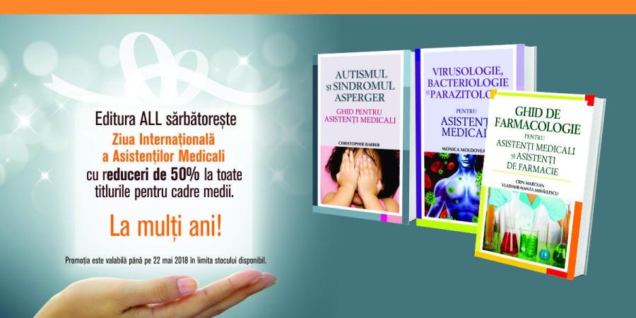 Promotie carti pentru asistenti