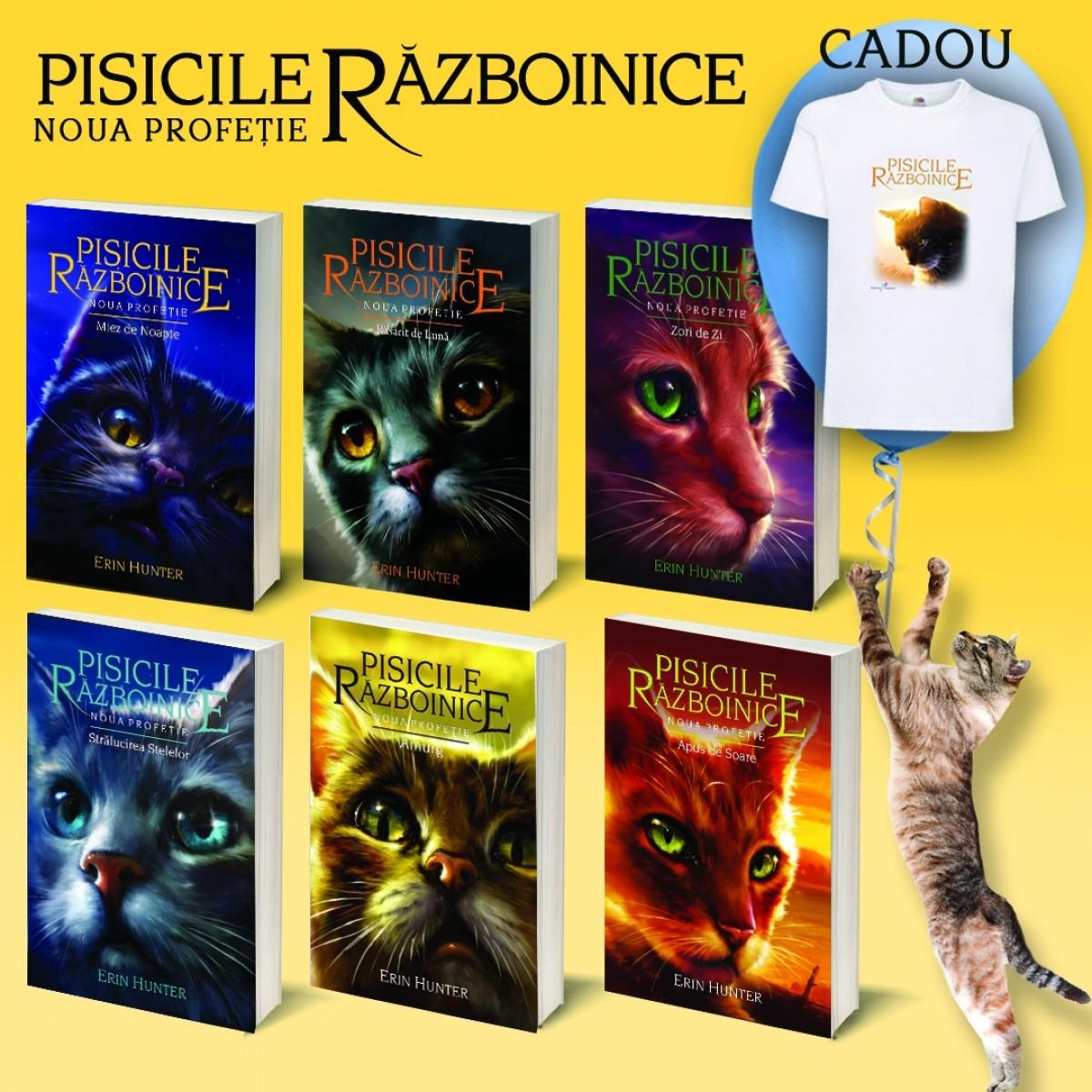 Pachet Pisicile Războinice - Seria II. Cărțile VII-XII