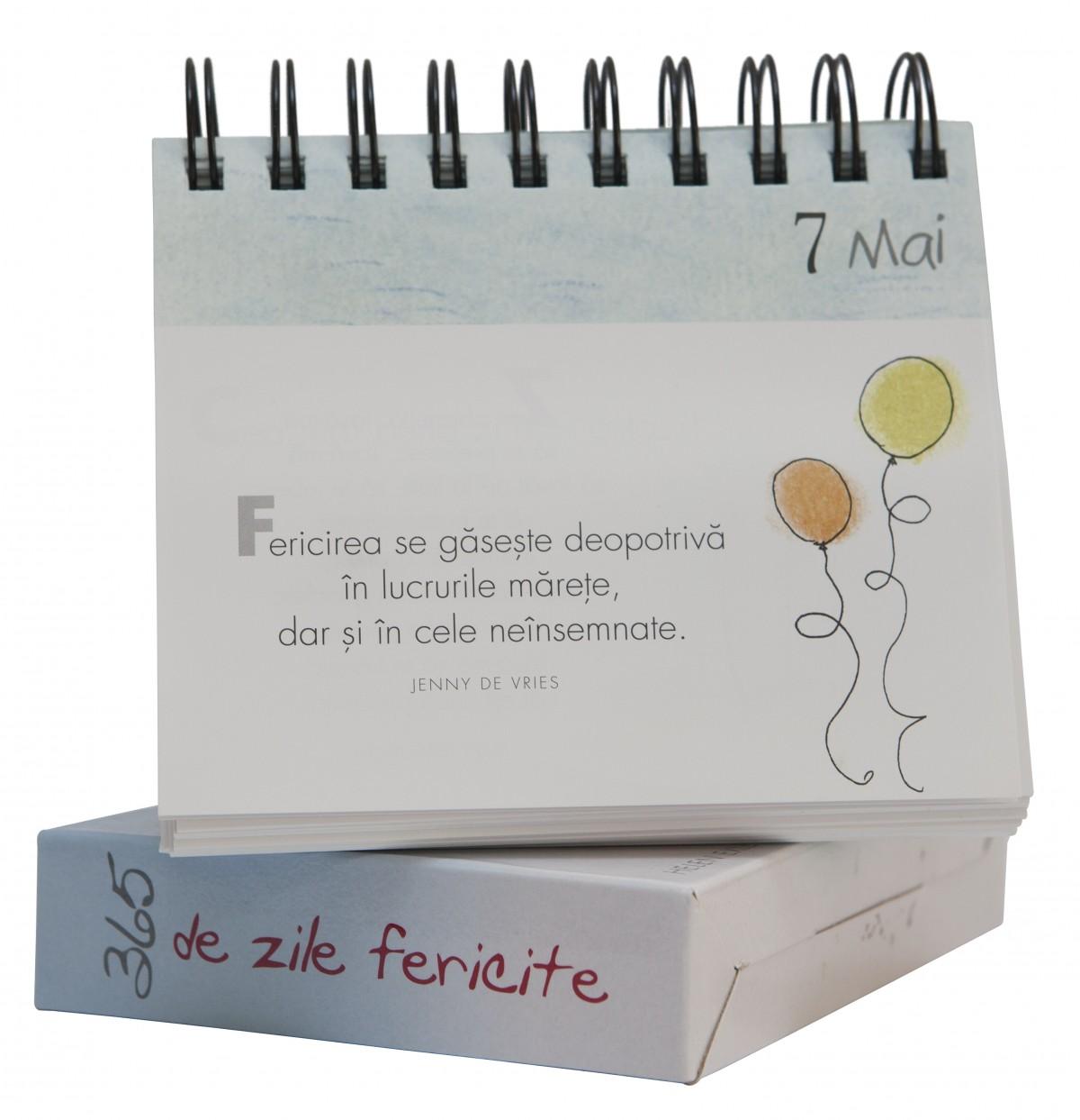 """Calendarul """"365 zile fericite"""""""