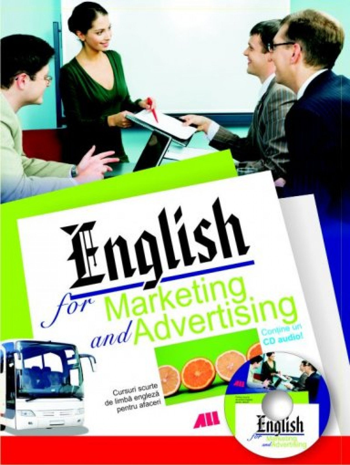 English for marketing and advertising. CD inclus