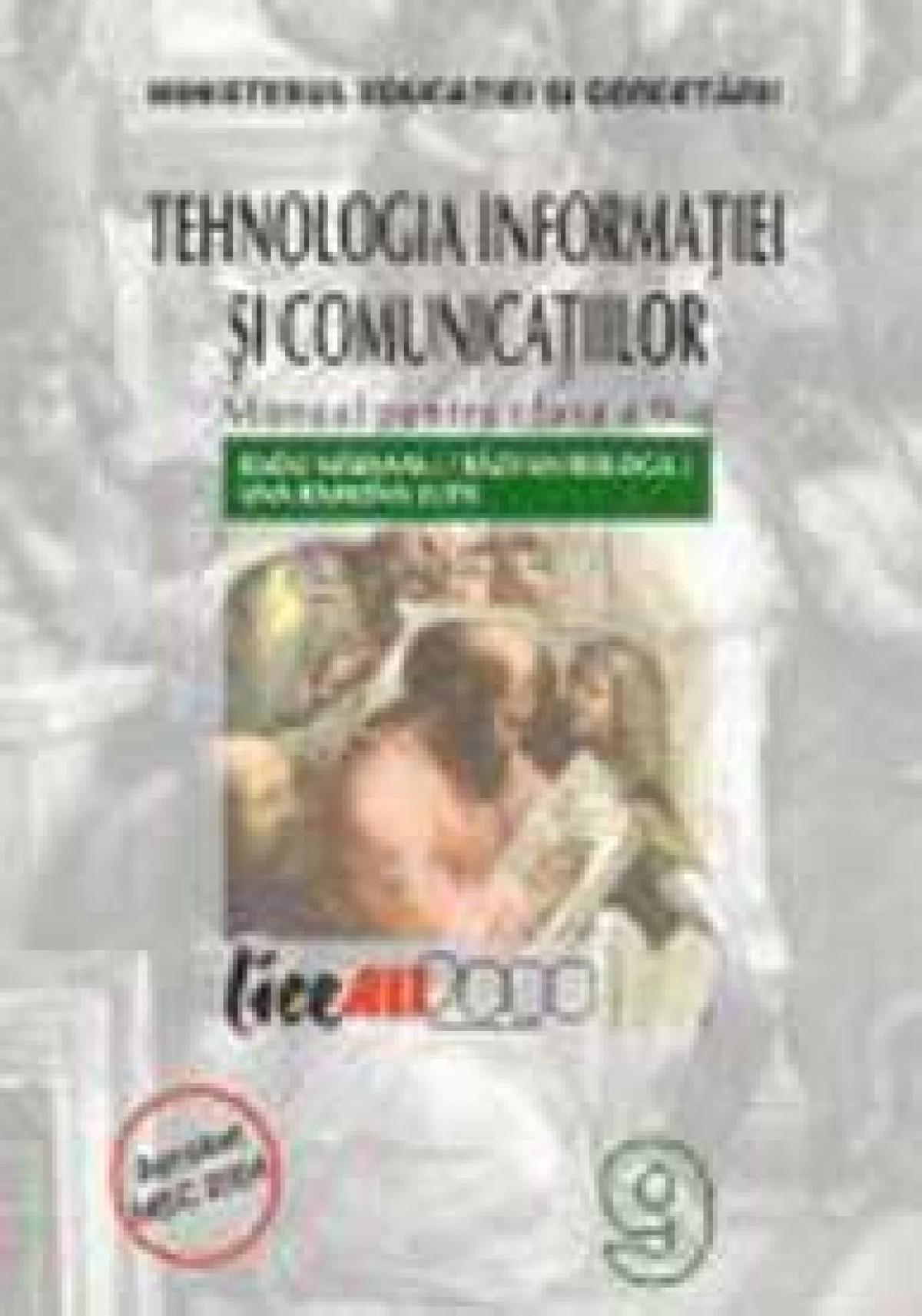 Tehnologia informatiei si comunicatiilor. Manual cl a IX-a