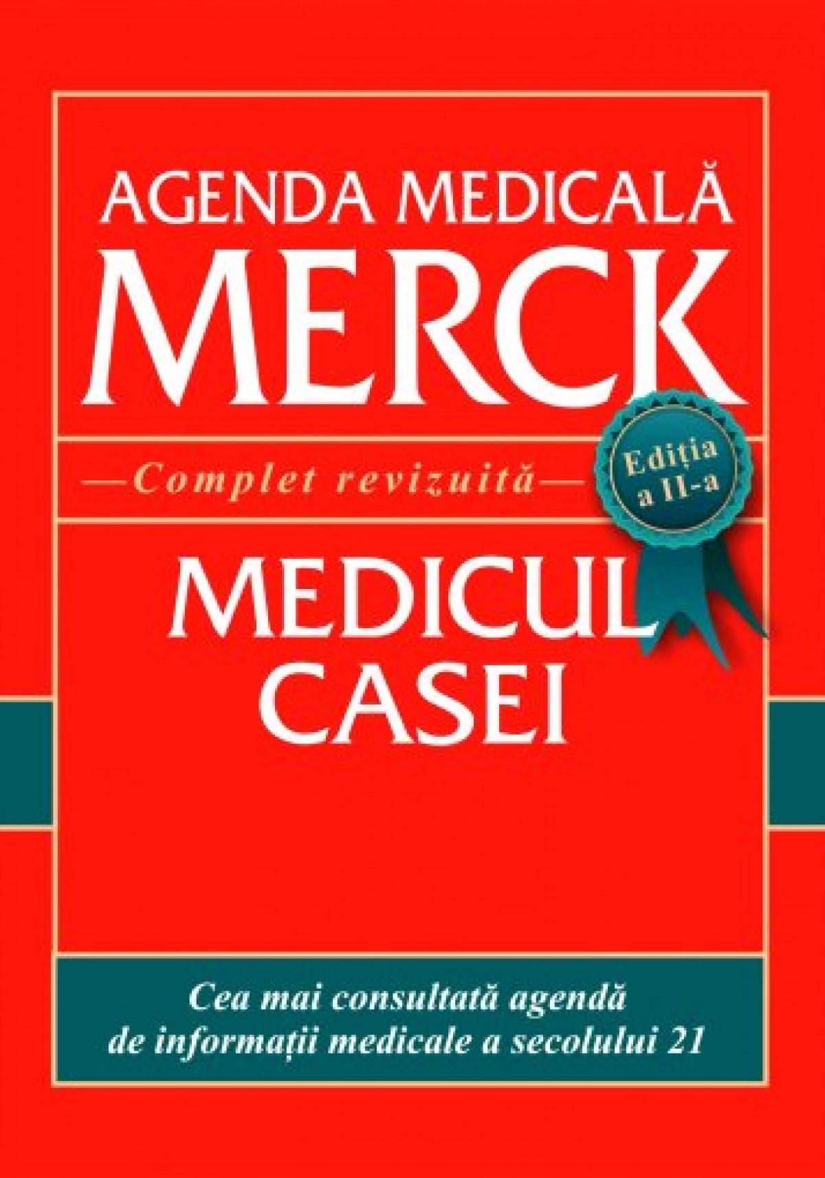 Agenda medicala Merck. Medicul casei