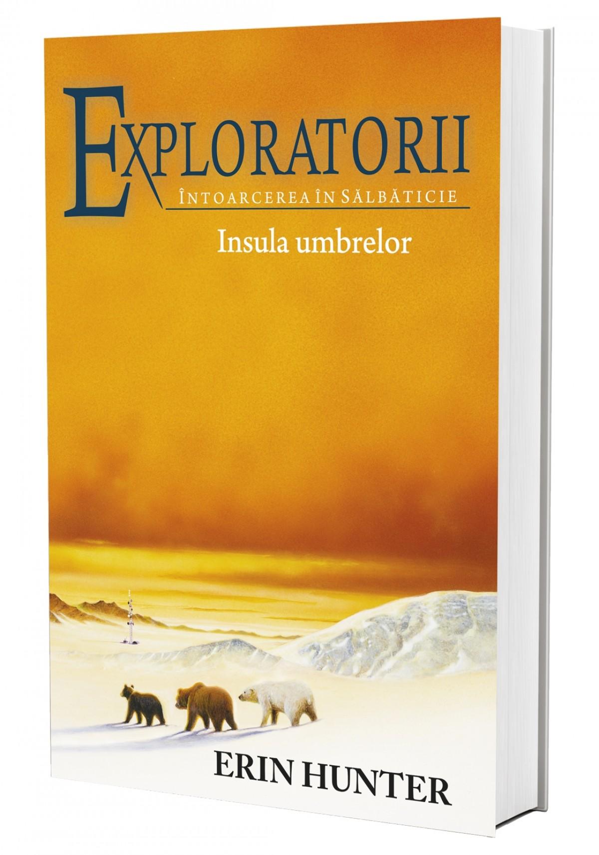 Cartea 7 Exploratorii. Insula umbrelor