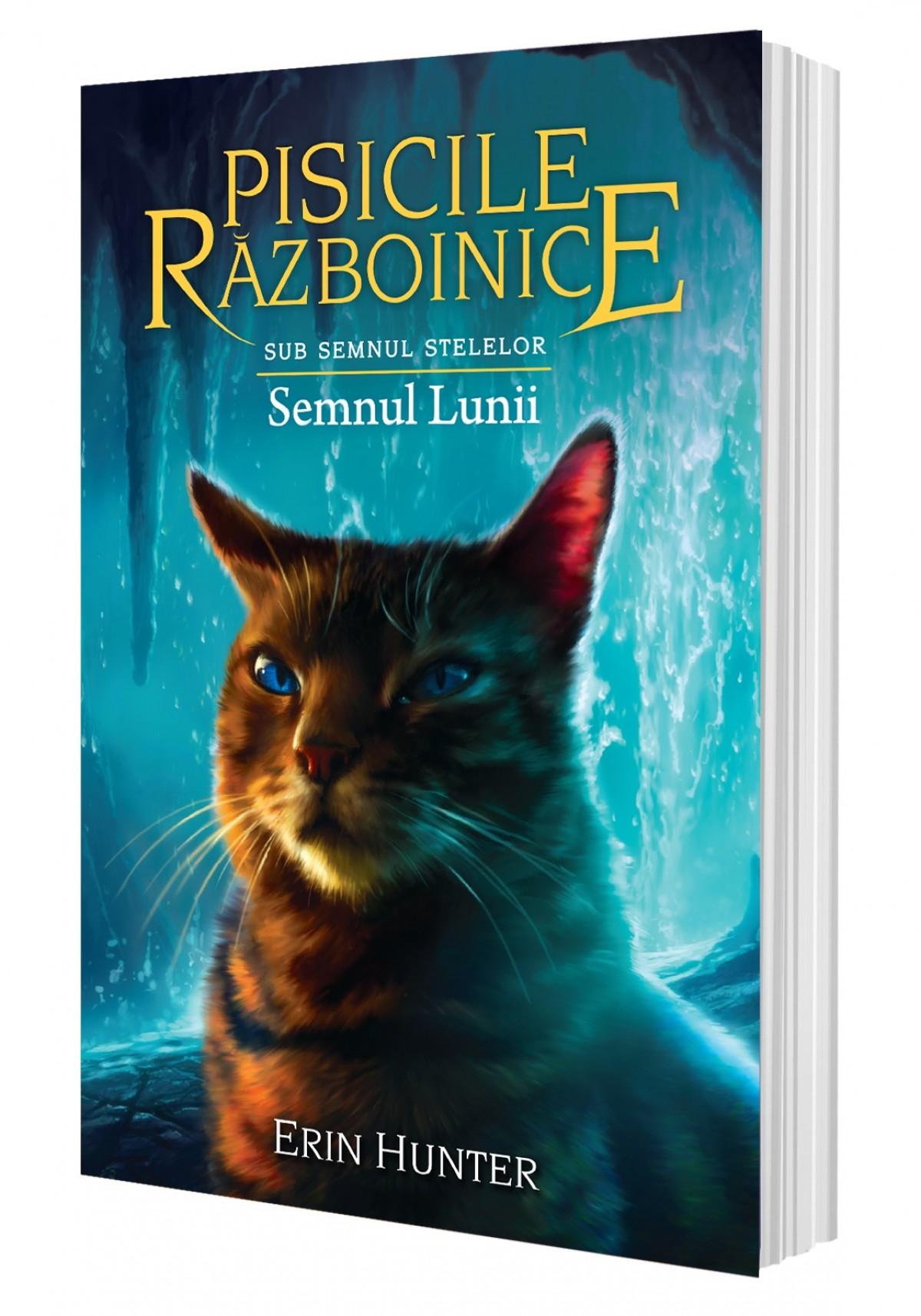 Cartea 22 Pisicile Războinice. Semnul Lunii