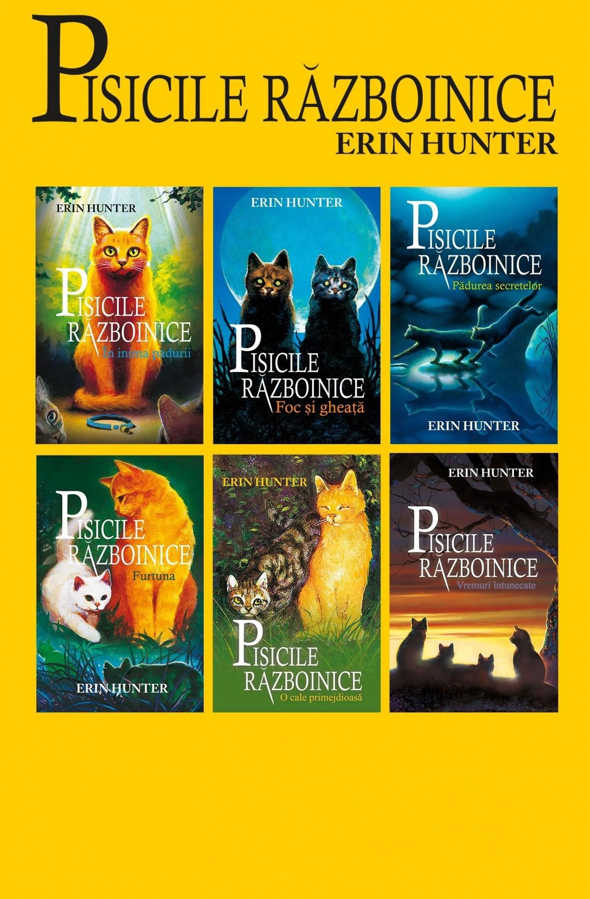 Pisicile Războinice - Seria I. Cărțile I-VI
