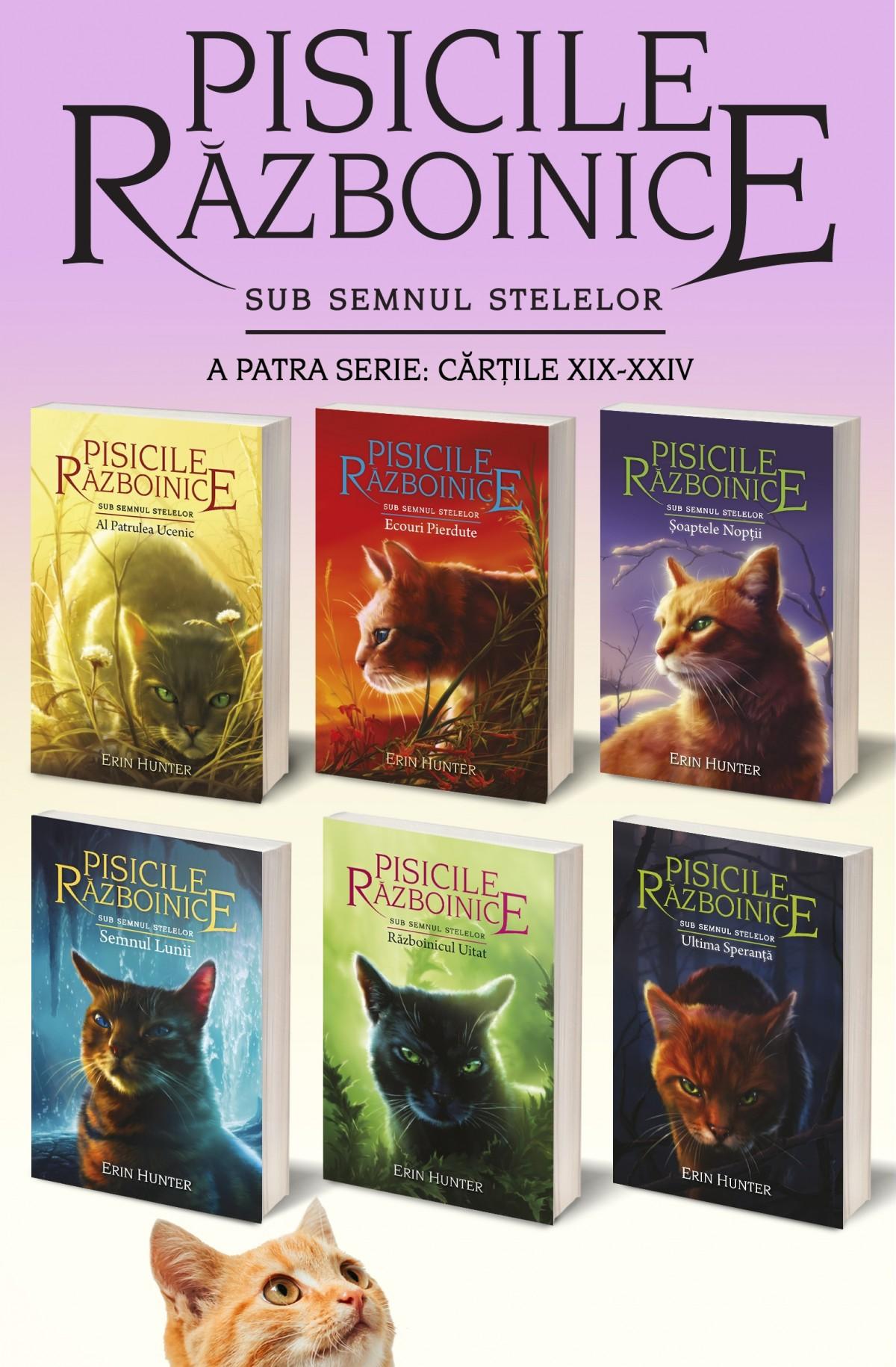 Pachet Pisicile Războinice – Seria IV. Cărțile XIX – XXIV