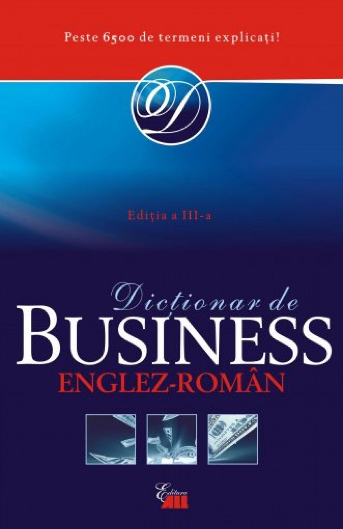 Oxford Business. Dictionar englez-roman (necartonat)