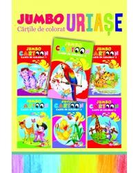 Pachet Jumbo Cartoon - Cărțile de colorat uriașe