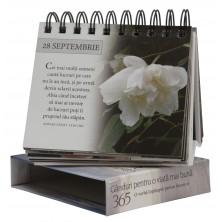 """Calendarul """"365 de gânduri pentru o viață mai bună"""""""