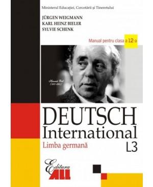 Limba germana L3. Deutsch International. Manual pentru clasa a XII-a