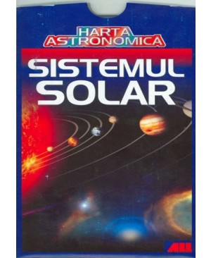 Harta astronomica - Sistemul solar