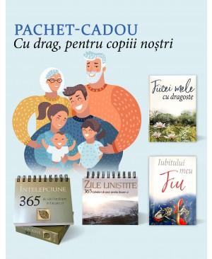 """Pachet-cadou """"Cu drag, pentru copiii noștri"""""""