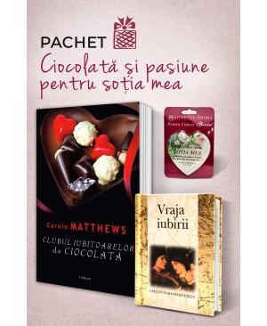 """Pachet """"Ciocolată și pasiune pentru soția mea"""""""