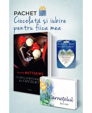 """Pachet """"Ciocolată și iubire pentru fiica mea"""""""