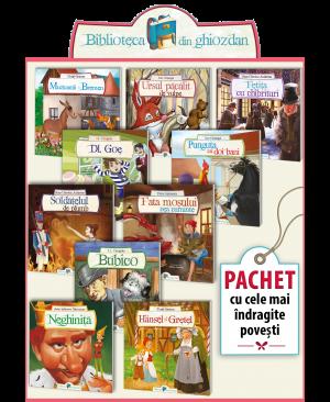 "Pachet ""Biblioteca din ghiozdan"""