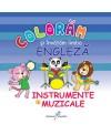 Colorăm și învățăm limba engleză 6. Instrumente muzicale