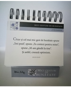 """Calendarul """"365 Mici gesturi de bunătate"""""""