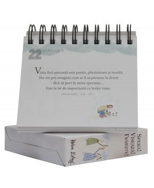 """Calendarul """"365 de zile. Speră! Visează! Trăiește!"""""""