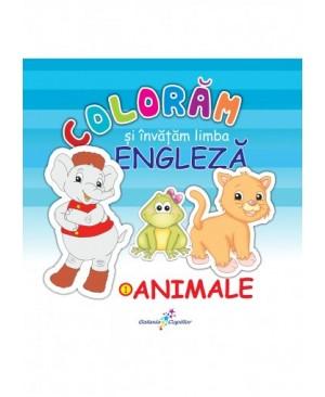Colorăm și învățăm limba engleză (1). Animale