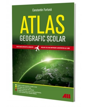 Atlas geografic școlar. Ediția a V-a