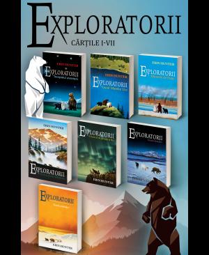 Pachet Exploratorii. Cărțile I-VII