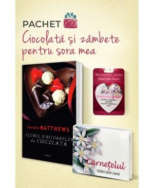 """Pachet """"Ciocolată și zâmbete pentru sora mea"""""""