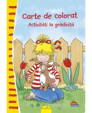 PIXI CREATIV. Carte de colorat: Activități la grădiniță